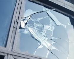 gebroken glas reparatie